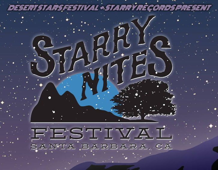 First show announcement of 2017  = Starry Nites Fest in Santa Barbara California